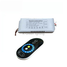 1X Newest 2.4g wireless constant current cct dimmable led driver 95-265V input 18-28W with 2.4G RF touch remote controller