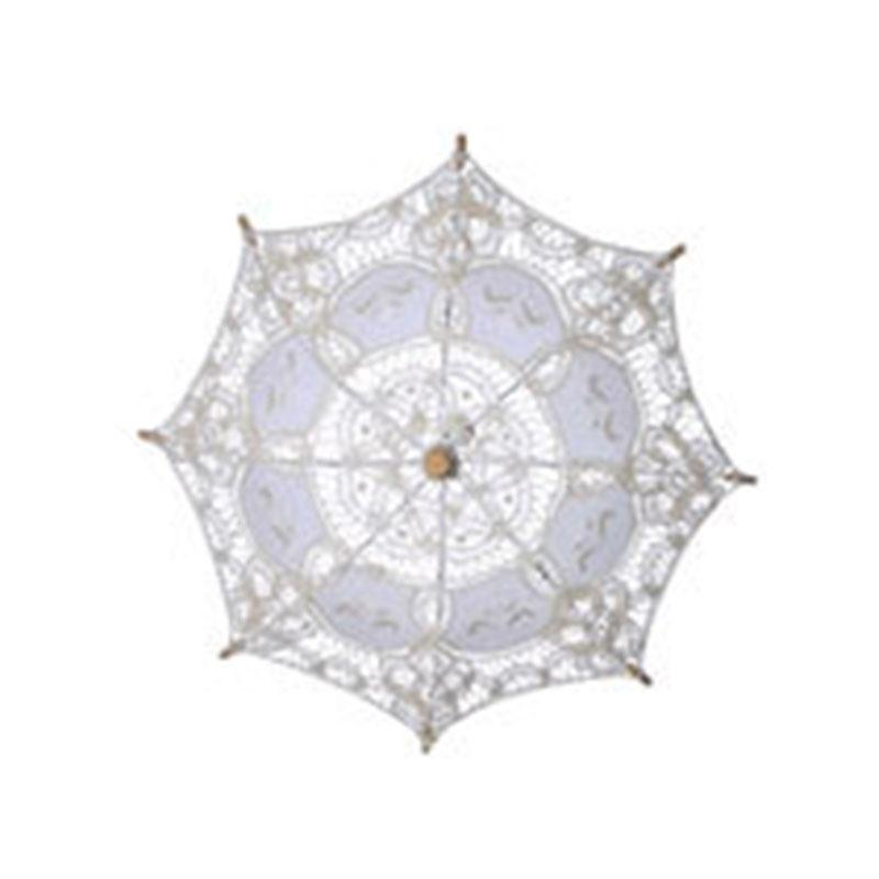 Women's Umbrella Handmade Cotton Parasol Umbrellas Wedding Decoration Marriage Guarda Chuva Invertido Parapluie Paraguas(China)