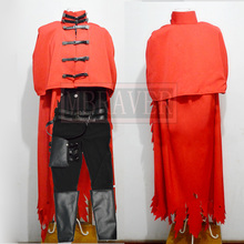 Final Fantasy VII 7 Vincent Valentine Cosplay Costume Custom-Made Any Size
