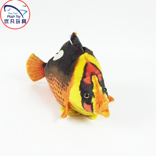Fish soft toy stuffed 48cm length butterfly fish sea animal plush gift toys for kids