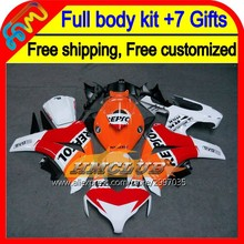 7gifts For HONDA CBR 1000RR CBR1000 RR 08 09 10 11 40HM130 CBR1000RR Repsol Orange 1000 RR 2008 2009 2010 2011 08-11 Fairing