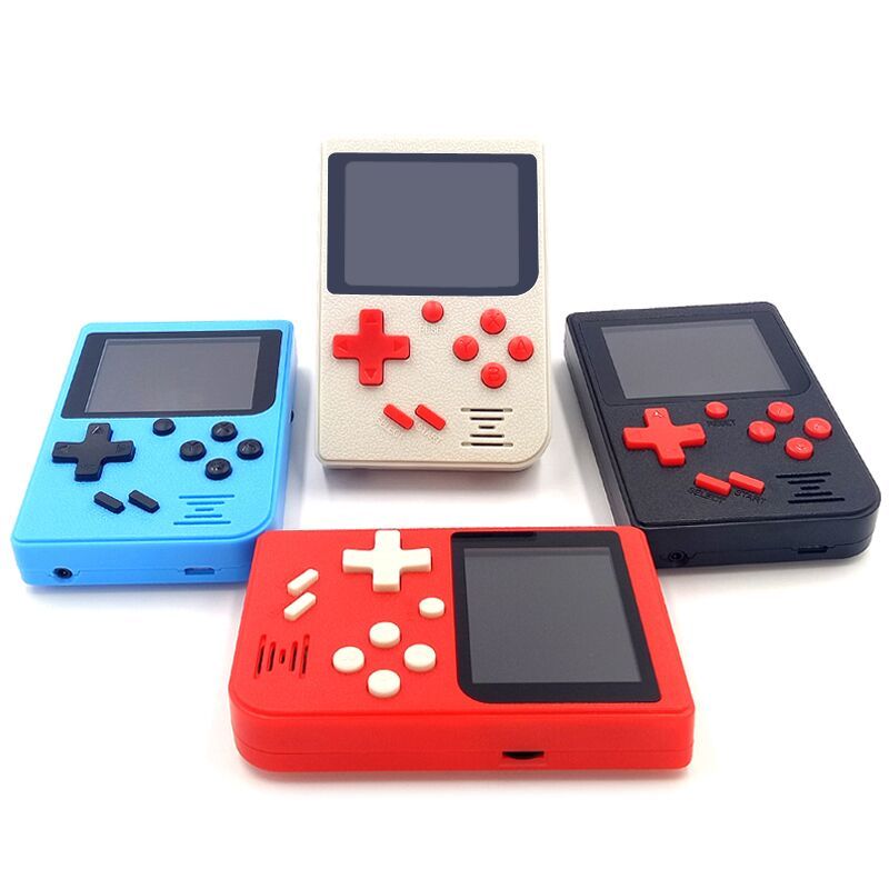 Retro Mini Handheld Portable Game Console 2.4 inch Colorful LCD Video Game Player 8 Bit Built-in 129 Classic Games TV Output