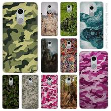 Military camouflage colorful Clear Cover Case Coque for Xiaomi Redmi Mi Note 3 3s 4 4A 4X 5 5S 5C 6 Pro