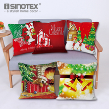 Cushion Cover Pillowcase Pillow Case Short Plush Fabric Decoration Sofa Home Textile Christmas New Year Gift 3 Sizes 18 Colors(China)