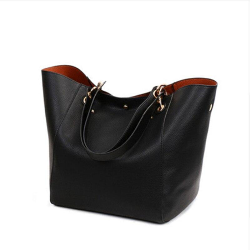 Women Genuine Leather Handbag Big Hobos Tote Bag Luxury Ladies Design Shoulder Bag Real Leather Handbags Womens Purse big bag<br>