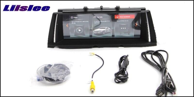 For BMW 7 F03 F04 F01 F02 NBT 2013~2015 LiisLee Multimedia GPS Audio Hi-Fi Radio Stereo Original Style For NBT Navigation NAVI 55