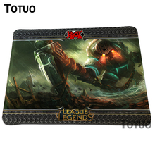 Special Offer Locking Edge PC Computer Laptop Mousepad League of Legends Gaming Play Mice Mat  Steelseries Mouse Pad