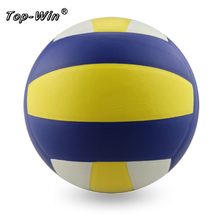Official Standard Size 5 Soft Touch Volleyball Ball PVC Power Professional Indoor Training Competition Balls Handball