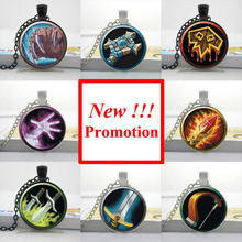 Buy NS-00309 New Fashion Wow Pendant World Warcraft Necklace Glass Dome Pendant Necklace Gifts Friend HZ1 for $1.10 in AliExpress store