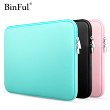 "BinFul 11"" 12'' 13"" 14"" 15"" 15.6 Laptop bag Sleeve case cover for Dell Samsung Asus Acer Toshiba Surface Pro Ultrabook Notebook(China)"