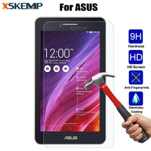 Slim Tempered Glass Film Clear Screen Protector For ASUS ZenPad 10 Z300C Z300CL C 7.0 Z170C FonePad 8 FE380CG Tablet Protective(China)