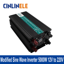 Modified Sine Wave Inverter 5000W CLM5000A-122 DC 12V to AC 220V 5000W Surge Power 10000W Power Inverter  12V 220V