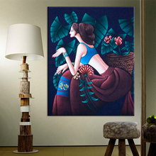 Classical Hand Stitch Precision printing Cross stitch Painting For Embroidery Kits Cross-Stitching High Quality