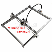 New DIY Metal laser engraving machine work area 100*100cm , laser cutter , metal laser engraving machine