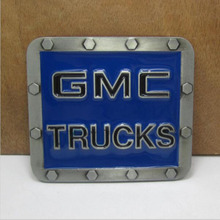 GMC TRUCKS motorcycle belt buckle Blue charms belt buckle Texas Fashion Mens Western Turbo Nos Tunning suitable for 4cm belt