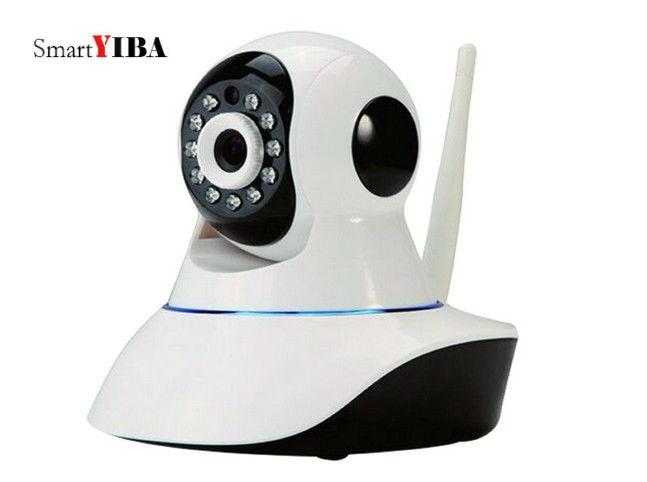 SmartYIBA 1 Megapixels WIFI APP Control Wireless IP Camera Indoor Surveillance Camera Network Camera Yoosee Program Camera<br>