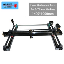 Whole Set Co2 Laser Mechanical Parts 1400*1000mm for DIY 1410 CO2 Laser Engraving Cutting Machine Laser Spare Parts Kit