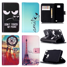 Customized! New Fashion Leather Case For Samsung Galaxy S2 SII i9100 9100 S2 Plus i9105 Stand Cover with wallet and card holder(China)