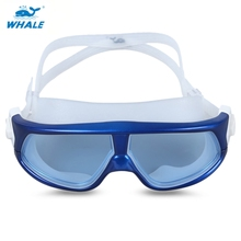 Hot Sale Whale Unisex Swimming Goggles Anti-fog UV Protection Swim Eyewear Glasses for Fitness Swimmers Accessories 4 Colors(China)