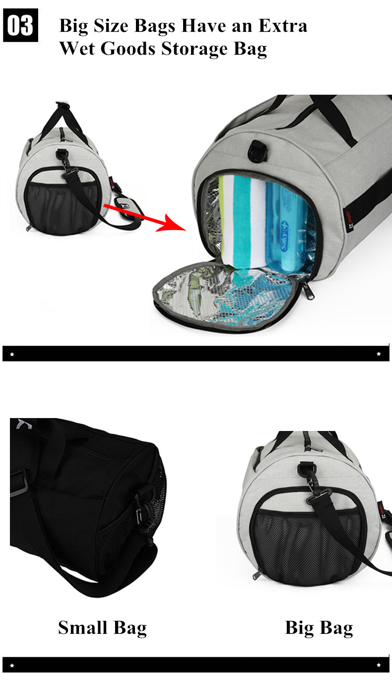 Waterproof Sport Bags Men Large Gym Bag Women Yoga Fitness Bag Outdoor Travel Luggage Hand Bag with Shoe Compartment 2019 (5)