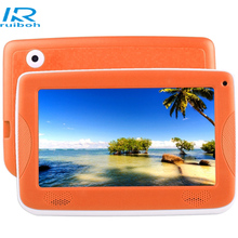 7.0 inch Children Tablet PC Android 4.4 Astar Kids Education Tablet PC, Allwinner A33 Quad Core, with Silicone Case(Orange)(China)