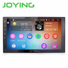 Joying Universal Car PC Android 6.0 7 Inch Head Unit Intel Quad Core 1024*600 HD GPS Navigation Car Stereo Radio(China)