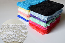 2017 trend 2 yards long 6 cm wide lace stretch lace DIY toys jewelry underwear clothing accessories spot 14 color