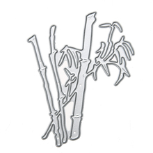 Bamboo Cutting Dies DIY Scrapbooking Metal Stencil for Photo Album Decoration Embossing Folder Paper Card Cutter