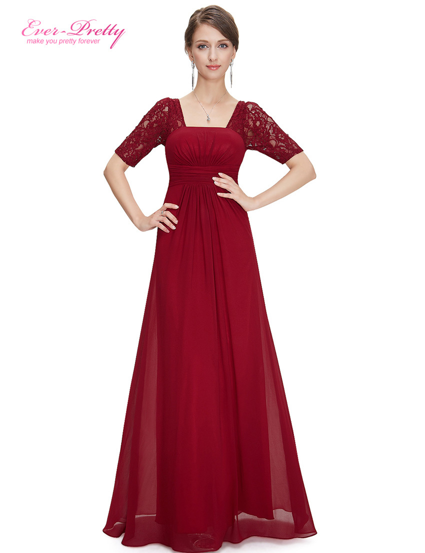 Evening Dresses Ever Pretty HE09882 Autumn Style Elegant 3 4 Sleeve ... 6a085ad6ab74