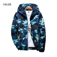 2018 New Men Bomber Jacket Thin Slim Camouflage Military Jackets Windbreaker Hooded Jacket Army Jaqueta Masculina JK-X