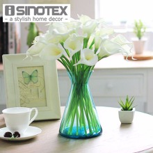 20 PCS/Lot Wedding Decoration Elegant Calla Artificial Flowers Decorative Flowers Bouquet Artificial Silk Floral