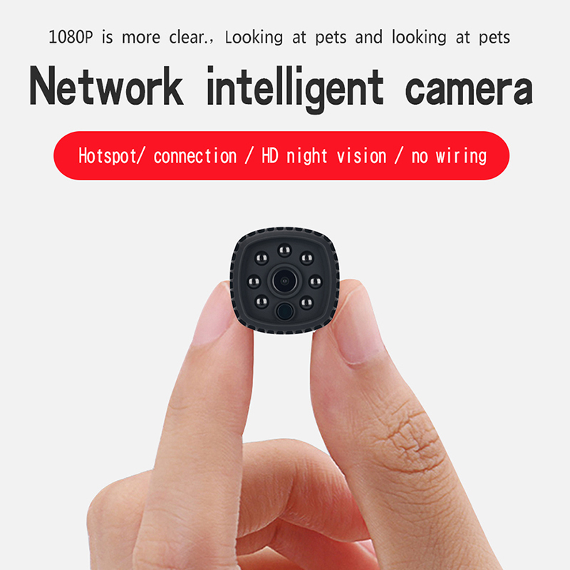 HD 1080P mini camera ip wifi mini ip night vision cam small micro video camcorder wireless security cameras home baby dv dvr title=