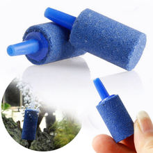 Pet Products 10pcs/set Cylinder Aquarium Bubble Fish Tank Air Stone Fish Tank Stone Decorations Aquatic Pet Supplies IC971945(China)