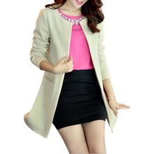 2017 New Fashion Trench Coat For Women Double Breasted Slim Fit Long Spring Coat Casaco Feminino Abrigos Mujer Autumn Outerwear