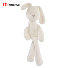 50cm Mamas & Papas baby rabbit sleeping comfort doll plush toys Millie & Boris Smooth Obedient Rabbit  Sleep Calm Doll