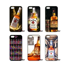 Jim Beam Wine art Poster For iPod Touch iPhone 4 4S 5 5S 5C SE 6 6S 7 Plus Samung Galaxy A3 A5 J3 J5 J7 2016 2017 Case Cover