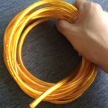 4.7 meter  gold color  Cord 2x0.75 CE/VDE Wire Electrical Wire Fabric Lighting Accessory DIY Pendant Lamp power cord Wires