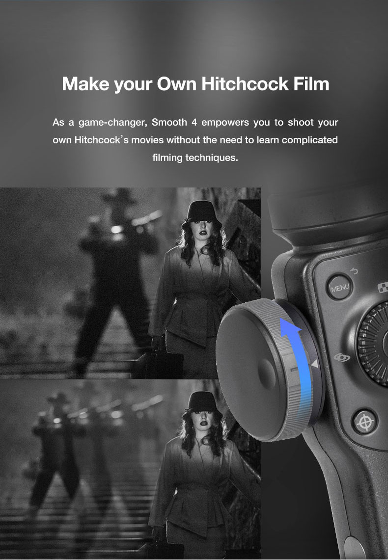 Presell ZHIYUN smooth4 smartphone Handheld 3 Axis Gimbal Portable Stabilizer for iPhone x Camera Gimbal VS zhi yun Smooth Q