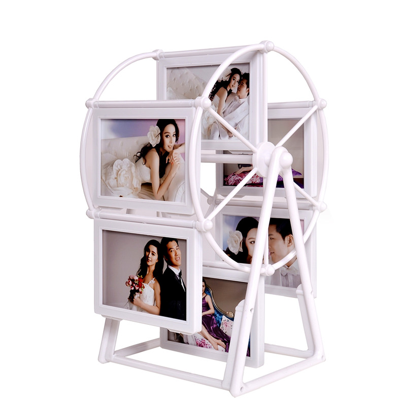 1 Set Photo Frame European Windmill Frame 2 Inch Ferris Wheel ...