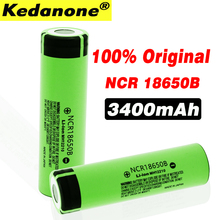 100% New 18650 battery 3400mah 3.7v lithium battery NCR18650B 3400mah Suitable Panasonic flashlight battery
