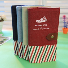 Creative Cloth Notebook Office Stationery Hardcover Notebook Diario Organizer Planner Notebook  Multifunctional Planner