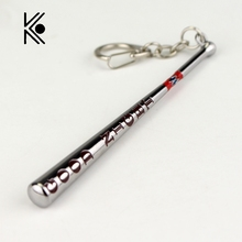 Suicide Squad Jewelry Baseball Bat Good Night Test Keychain Harley Quinn Key Rings Gift For Holder Chaveiro Car Key Chain(China)