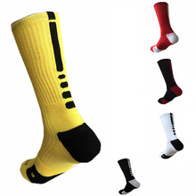 4 Pairs Men's Sport Socks Professional Basketball Elite Socks Thicken Outdoor Athletic Skateboard Running Sport Sock For Men(China)