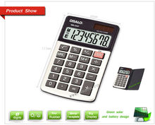 8 Digits Dual Power Mini Popular Lovely Flexible Office Calculator Solar Calculadora Hesap Makinesi Calculatrice OS-270P