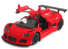KINSMART 1:36 Diecast Sport Car Model, Brinquedos, Pull Back Toy Car, Doors Openable Sport Car Toys For Collection