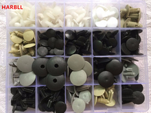 HARBLL Auto Trunk Ceiling Roof Engine Compartment Cover Insulated Cotton Mixed Rivet Box Set For Plastic Fastener Screw Clip