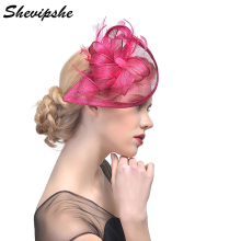 Wedding Holiday Fascinator Cocktail Hat Women French Veiling Hair Headband Vintage Hair Clip Lady Party Hair Band Accessories