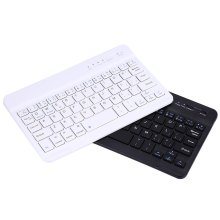 Aluminum Ultra Slim Mini Wireless Keyboard Wireless Bluetooth 3.0 Keyboard with Charging Port For Windows Android IOS PC