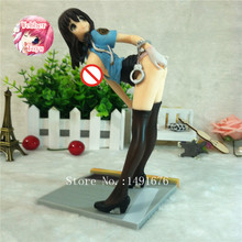 Japanese anime action figures Native Sexual Police sexy girl pvc sex toy minifigure nude resin figures new
