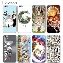 Lavaza Studio Ghibli Spirited Away Totoro Hard Transparent Cover Case for iPhone X 10 8 7 6 6S Plus 5 5S SE 5C 4 4S